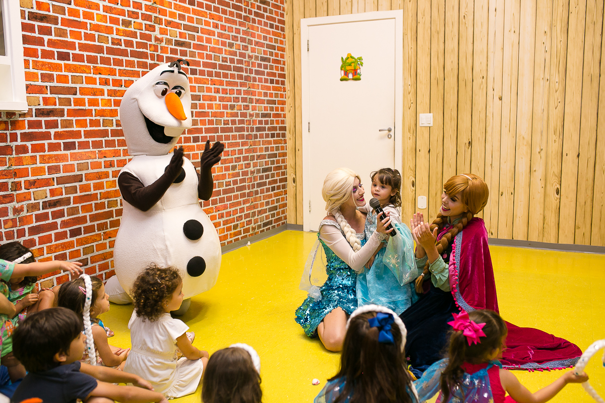 Olaf e a turminha