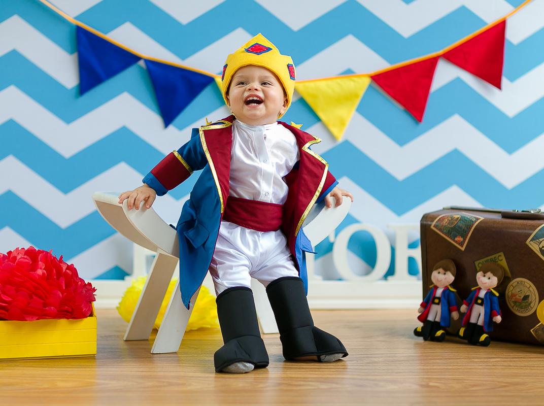 Ensaio Infantil Pequeno Príncipe