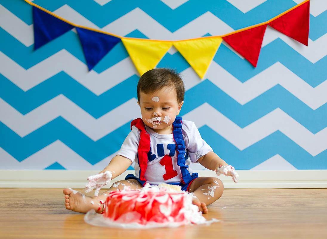 Lambança Smash the cake