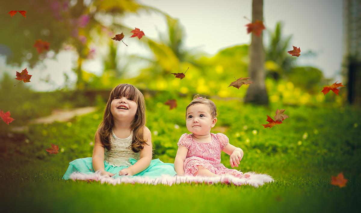 Ensaio Fotografico de irmãs