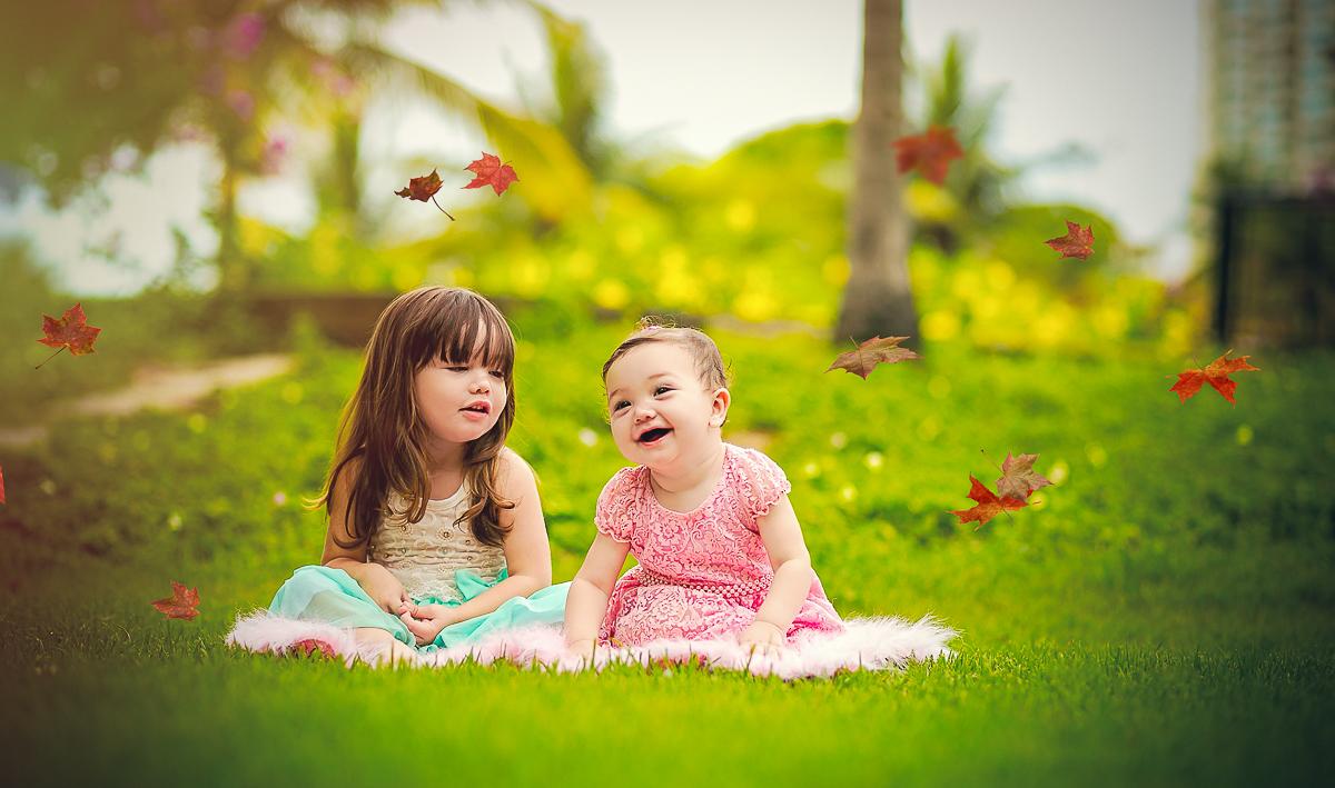Ensaio Fotográfico Crianças
