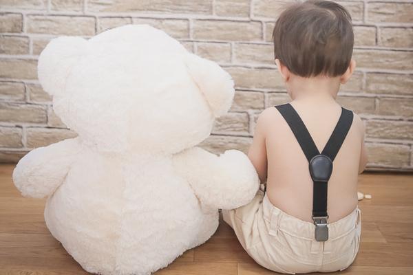 Bebê de Davi - Mini Sessão Dia das Crianças