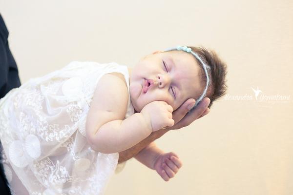 Bebê de Isabella - 01 mês