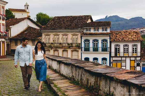 Ensaios de Lorena e Thiago / Pre Wedding em Ouro Preto