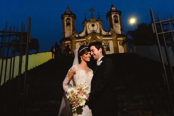 Casamentos de Raissa e Tiago / Casamento Clássico em Ouro Preto / Igreja do Carmo