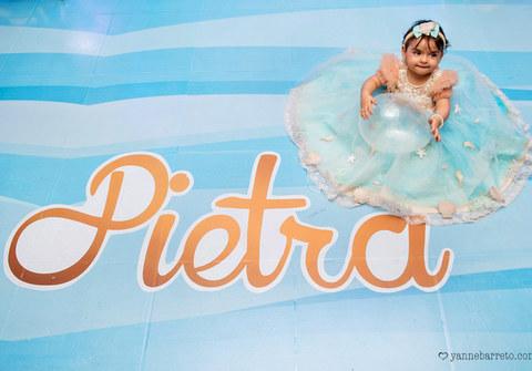 Festas infantis de 1 ano de Pietra