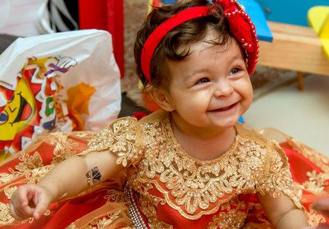 Festas infantis de Maria Clara | 1 aninho