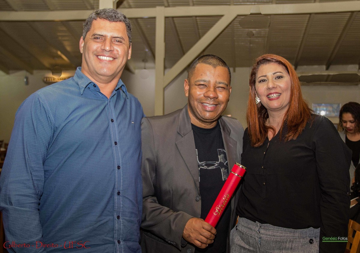 Foto de Gilberto - Direito UFSC