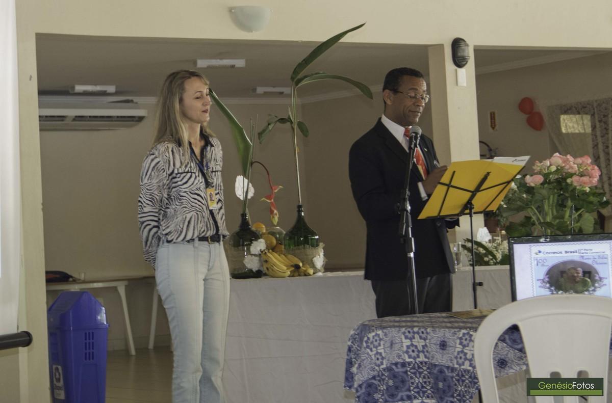 Em Floripa com Zuleide