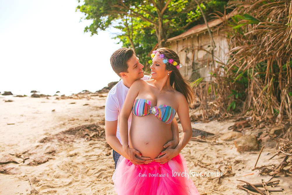 ensaio de gravida e gestante
