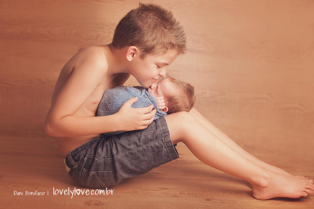 ensaio fotografico lindo com irmão