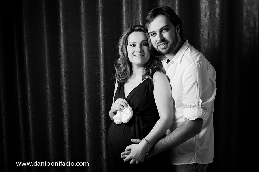 book fotografico de gravida em estudio