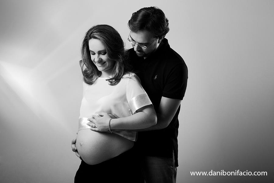 ensaio de gravida no estudio