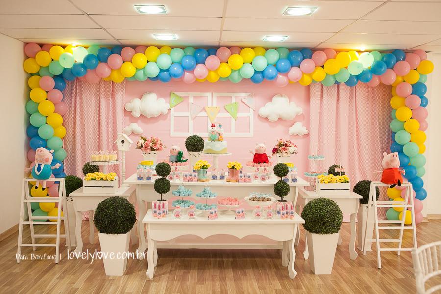 tema de festa infantil peppa pig