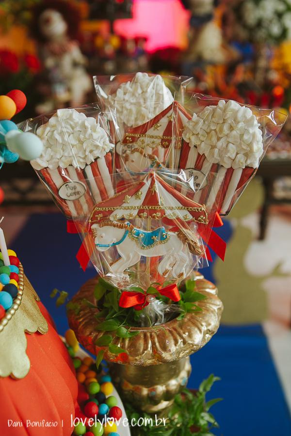 decoração de festa de circo