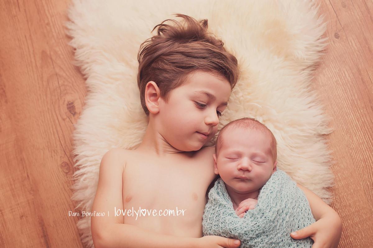 fotografia de criança e bebe