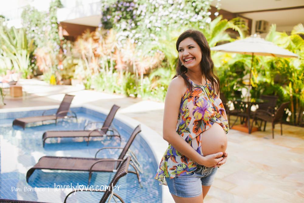 ensaio de gravida externo