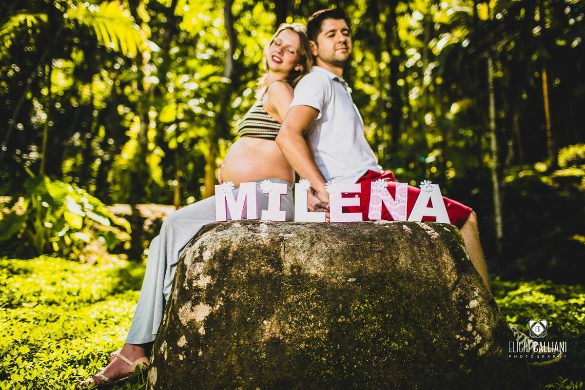 Foto de Chaylene + Laerte  à espera de Milena