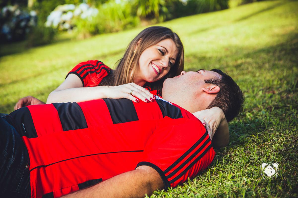 Foto de Marília e Eduardo