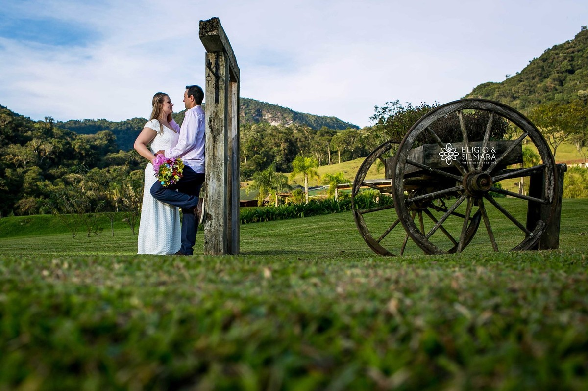 Foto de Bruna e Jorge