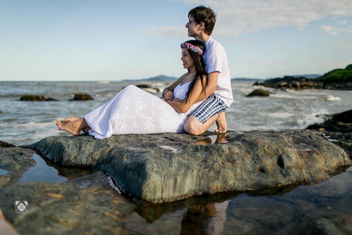 Foto de Fernanda e Felipe
