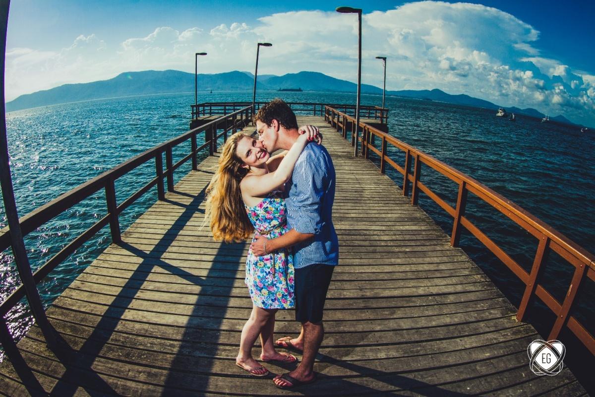Foto de Melina e Thairo