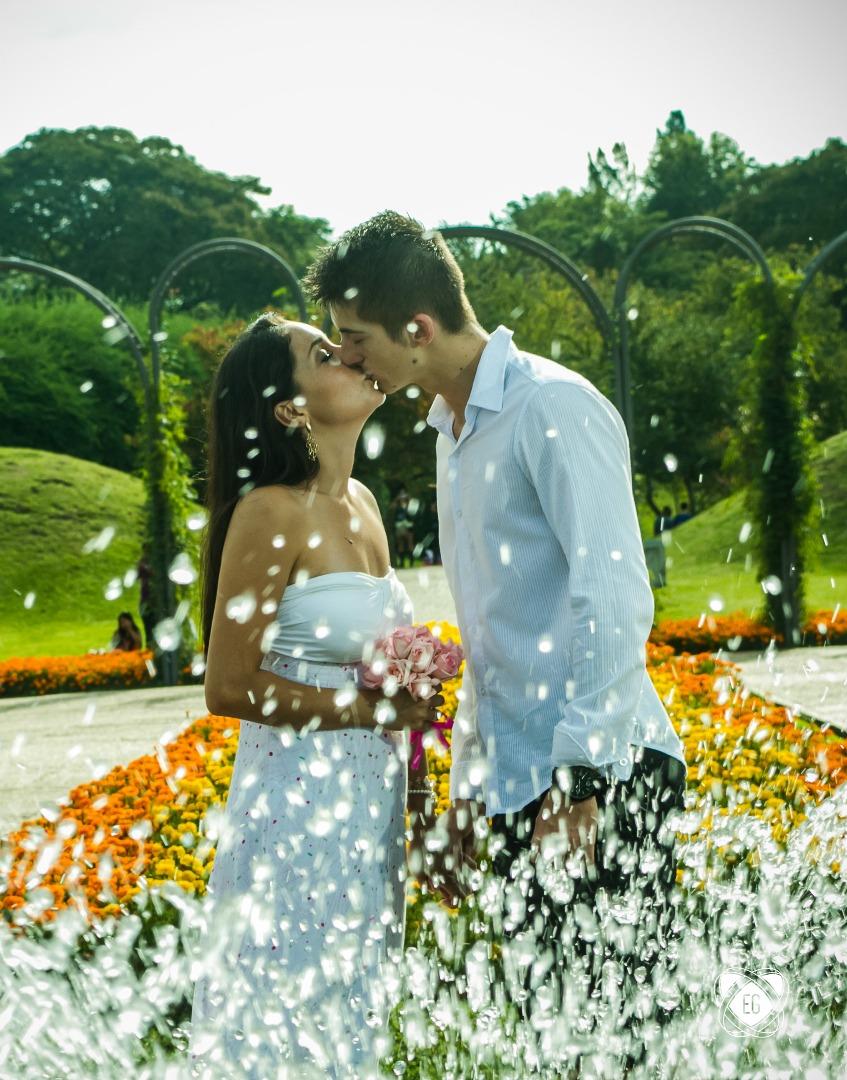 Foto de Karili e João