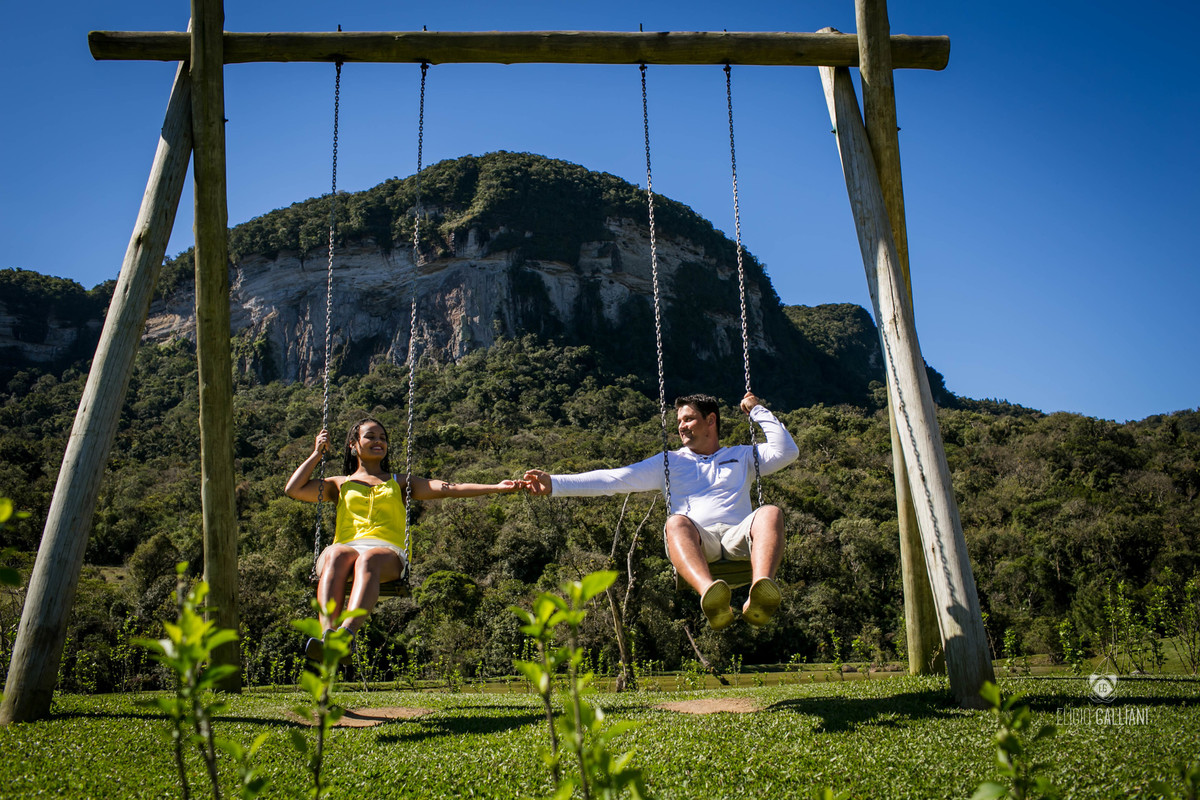Foto de Patricia e André