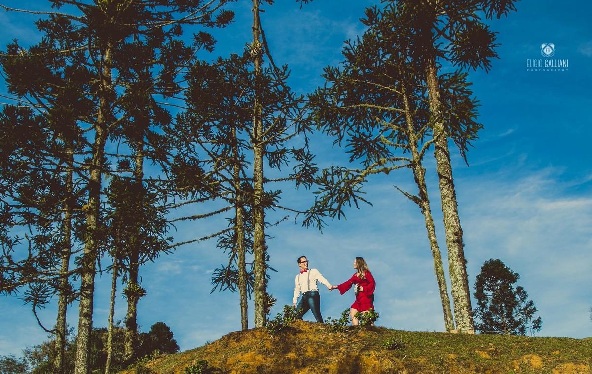 Foto de Adrieli e Geovani
