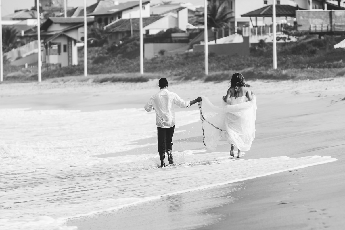 Foto de Trash the dress Lucimara e Ederson