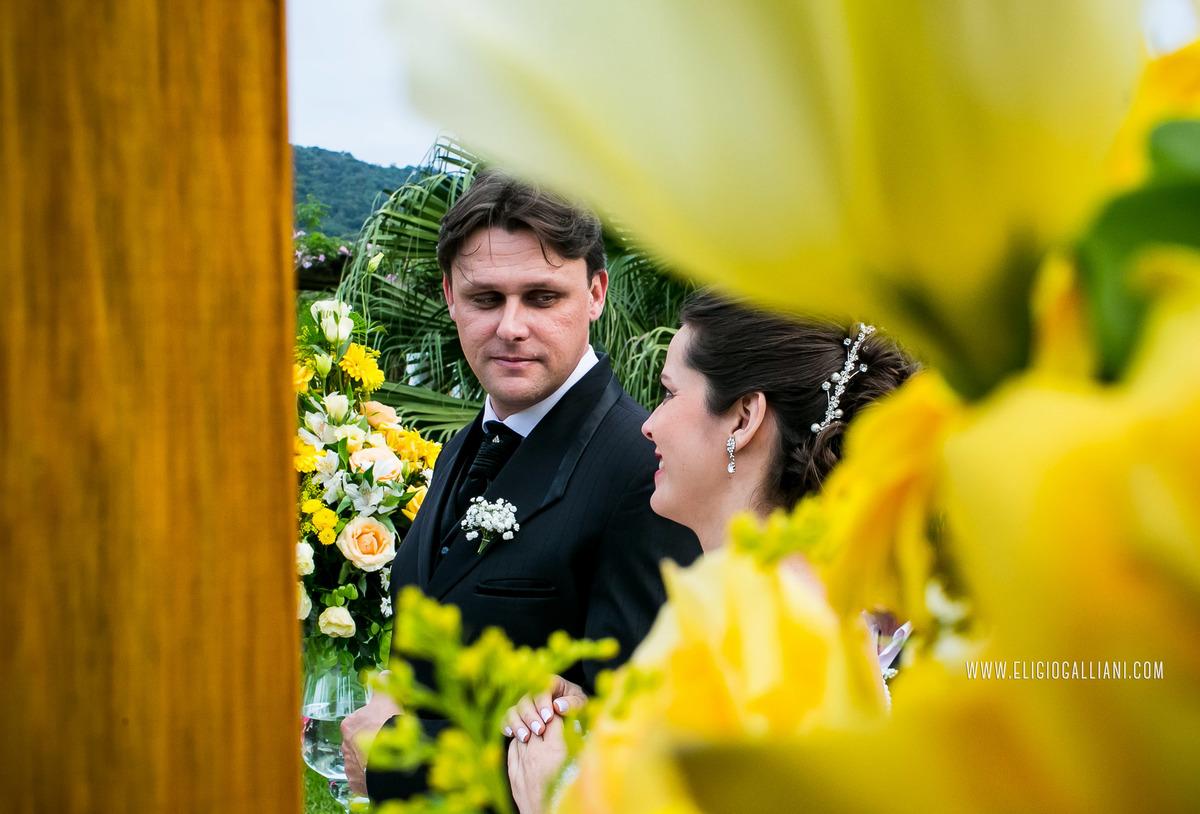 foto linda do casamento
