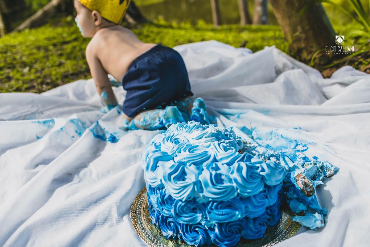 Foto de Smash the cake - Príncipe Jorge no reino da gostosura!