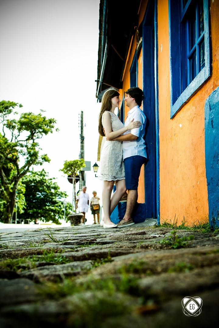 Foto de Josiane e Miqueias