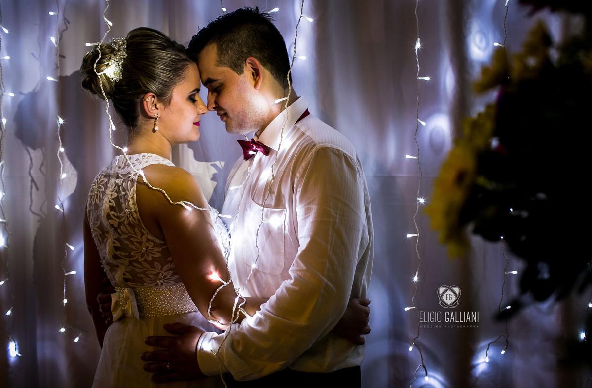 Foto de Elizandra e Anderson