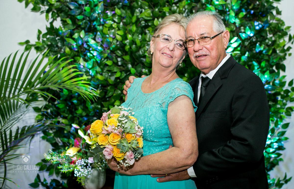 Foto de Irma e Osmar