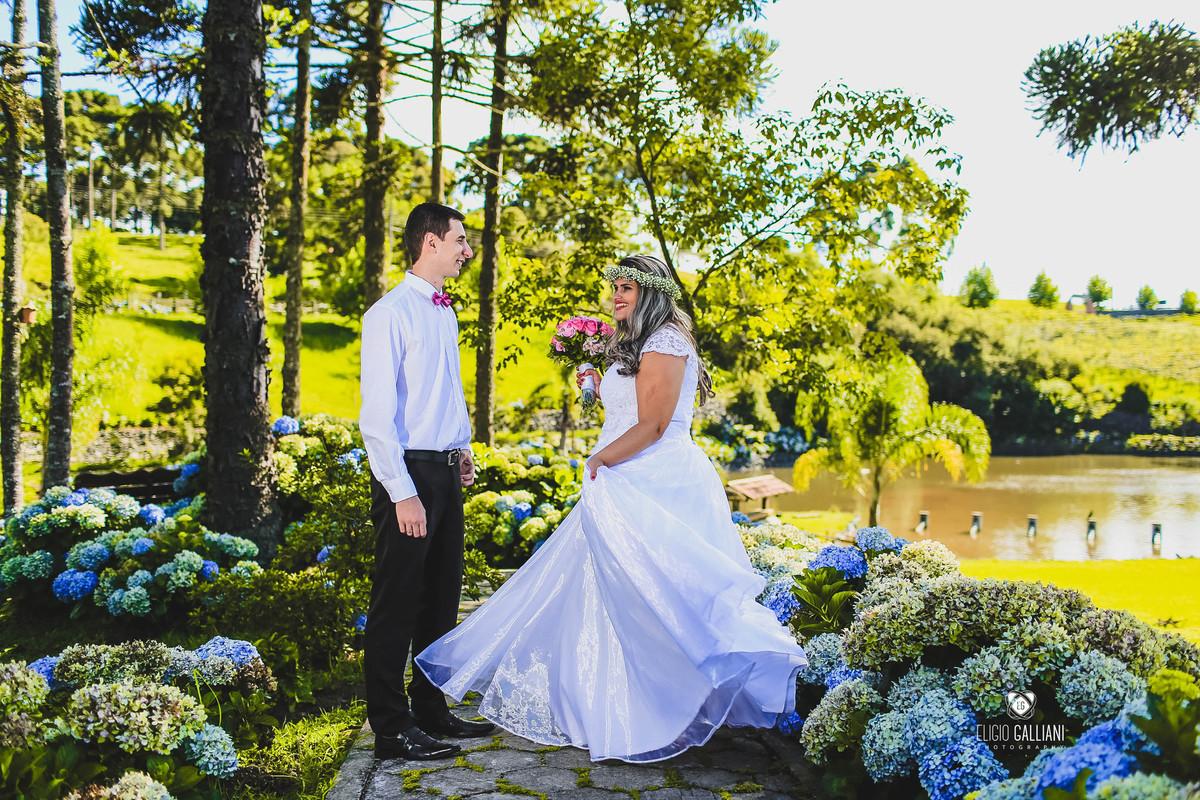 Foto de Neuza e Jonas