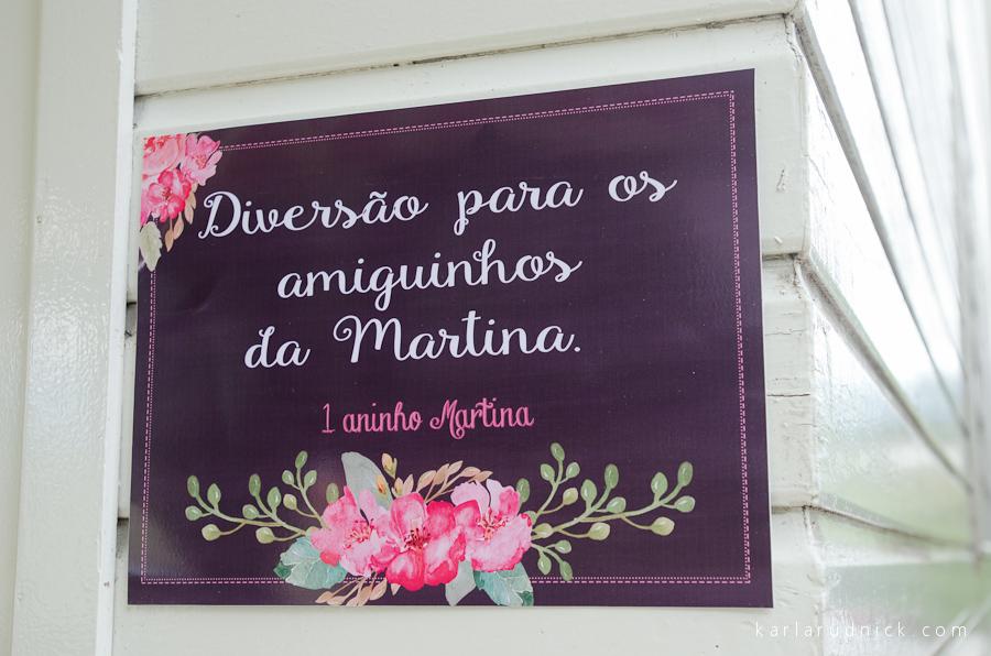 Foto de Martina 1 aninho