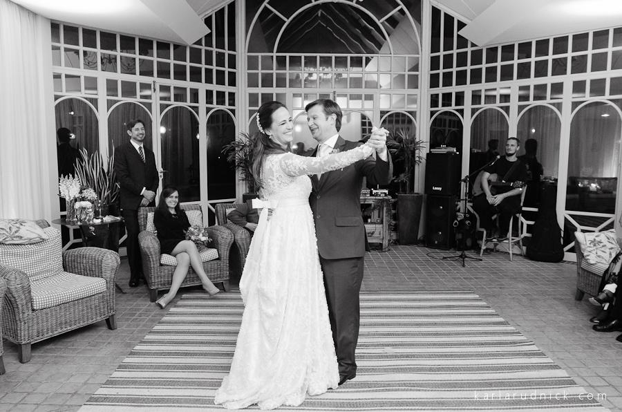 Valsa dos noivos em casamento no Hotel Serra Alta em São Bento do Sul_SC