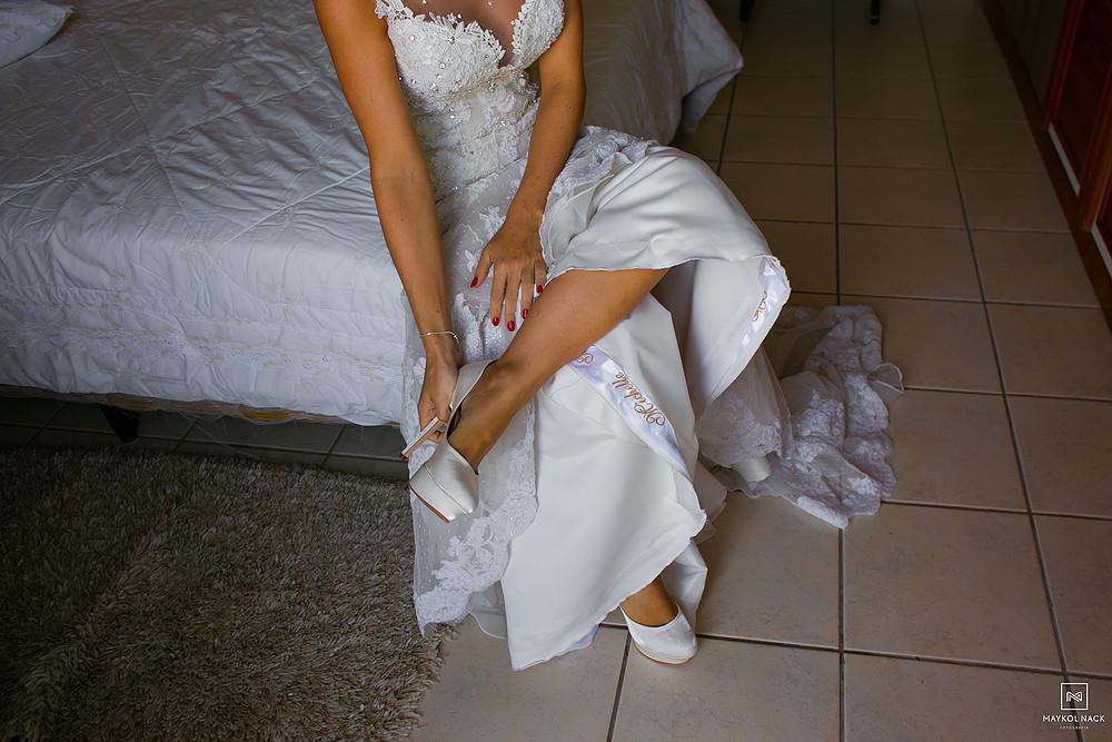 sapatos de noiva laguna