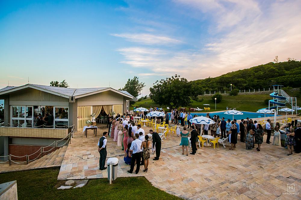festa de casamento em laguna