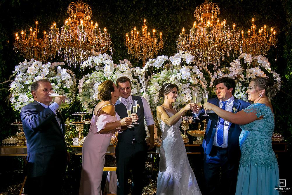 brinde de casamento laguna