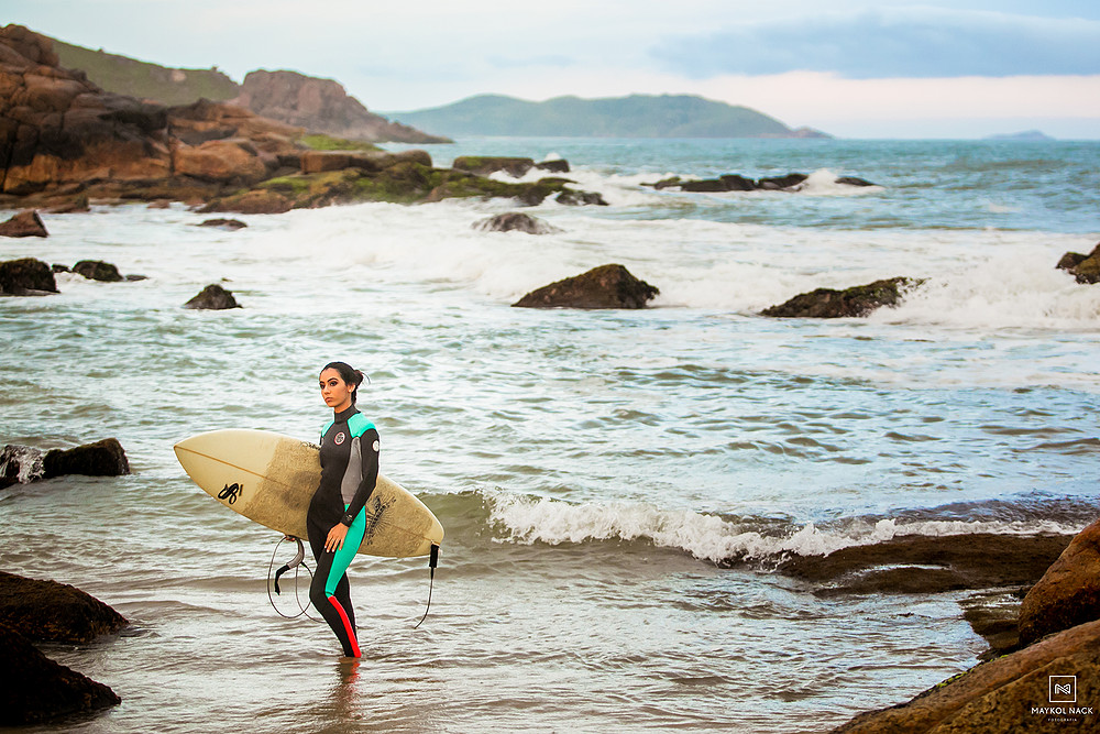 prancha de surfe ensaio