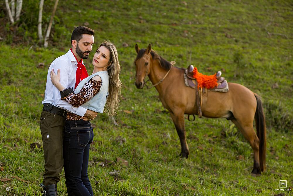 cavalos ensaio de casal