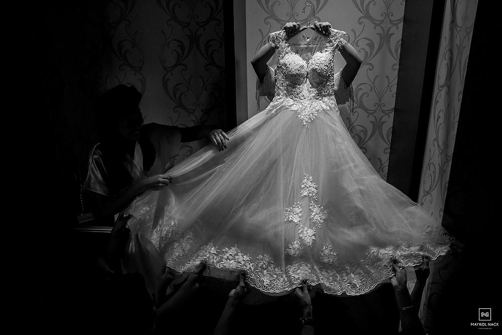 vestido de noiva jaguaruna