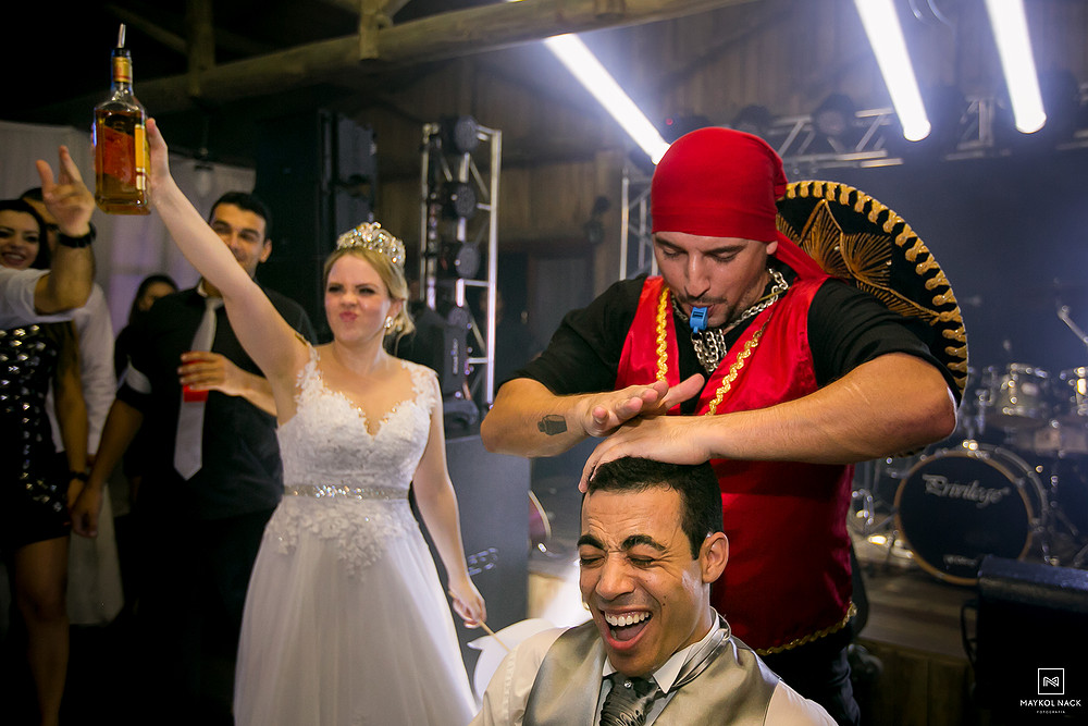bartender casamento