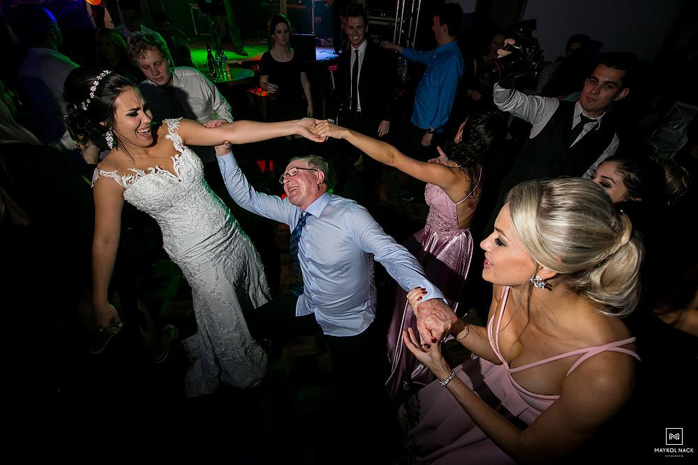 festa do casamento edina e otavio