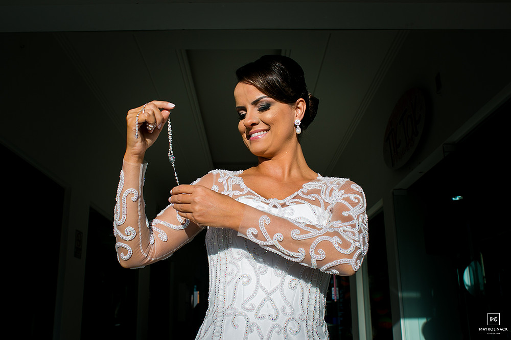 retrato de noiva casamento