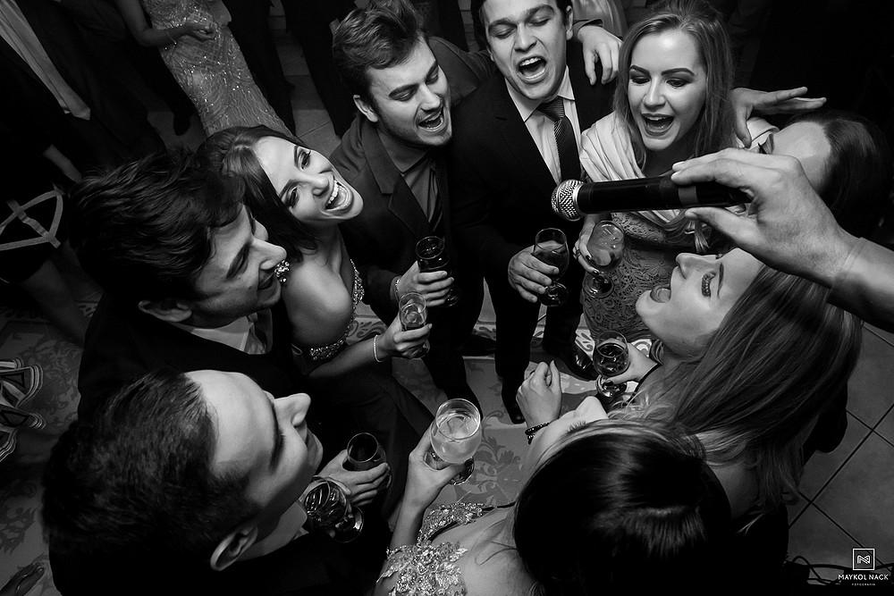 festa de casamento braço do norte