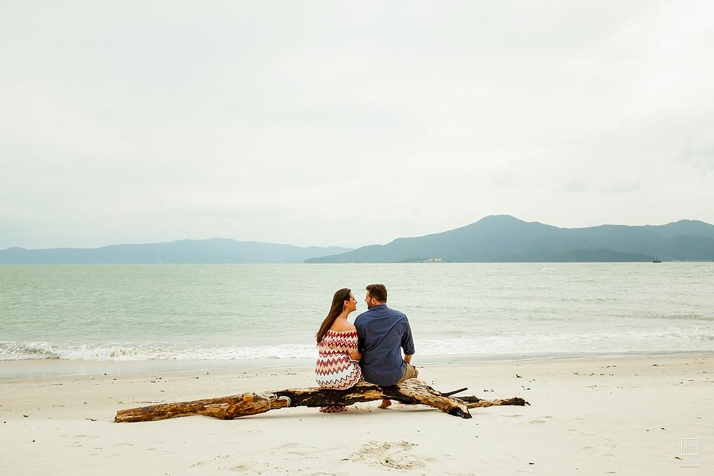 ensaio na praia do forte floripa
