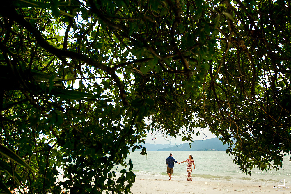 noivos praia de floripa